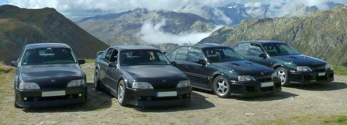 ein paar Autos